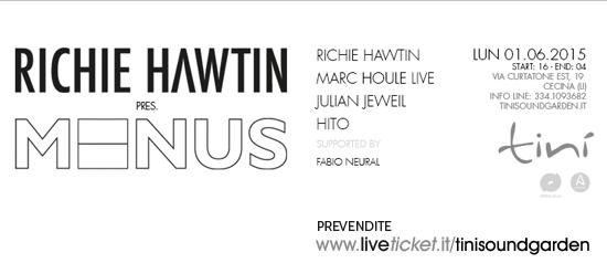 Richie Hawtin al Tini' Soundgarden di Cecina
