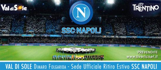 Ritiro estivo del SSC Napoli a Dimaro in Val di Sole