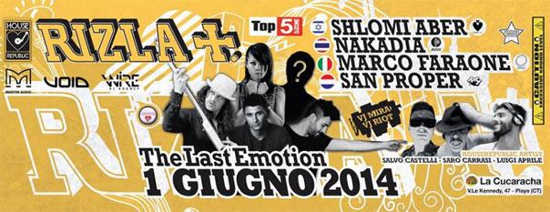 Rizla Event 2014 a Catania
