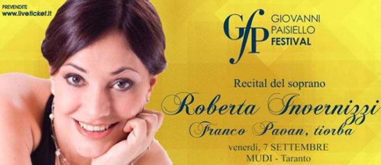 Roberta Invernizzi & Franco Pavan - Giovanni Paisiello Festival al Museo Diocesano a Taranto