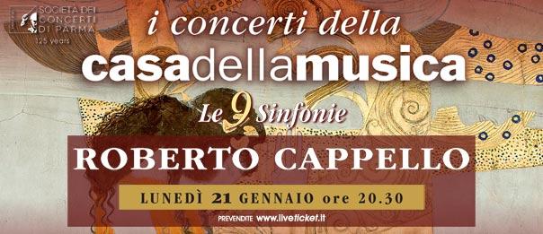 Roberto Cappello alla Casa della Musica a Parma