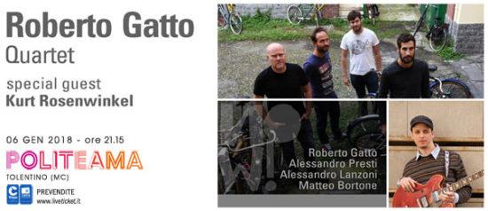 Roberto Gatto Quartet special guest Kurt Rosenwinkel al Politeama di Tolentino
