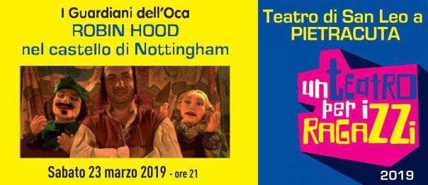 Robin Hood al Teatro di Pietracuta di San Leo