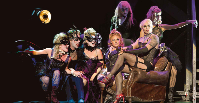 The Rocky Horror Musical Show a Pesaro