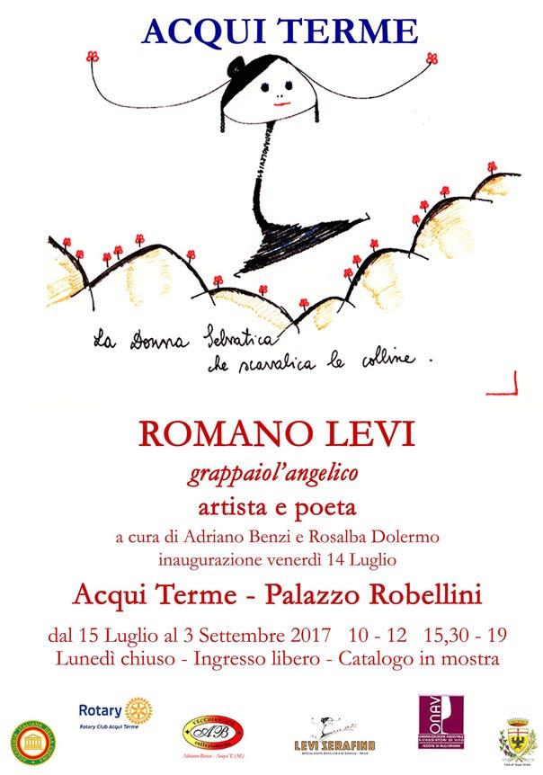 Romano Levi - Artista e Poeta mostra al Palazzo Robellini di Acqui Terme