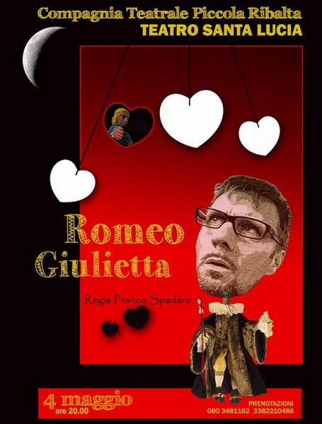 Romeo e Giulietta al Teatro Santa Lucia di Gioia del Colle