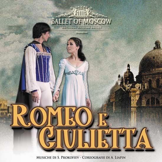 """Russian Ballet Moscow """"Romeo e Giulietta"""" al PalaRiviera di San Benedetto del Tronto"""