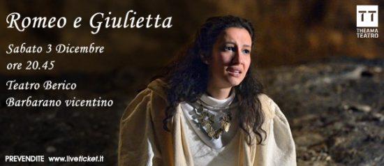 Romeo e Giulietta al Teatro Berico a Barbarano Vicentino