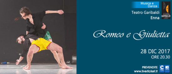 Romeo e Giulietta al Teatro Garibaldi di Enna