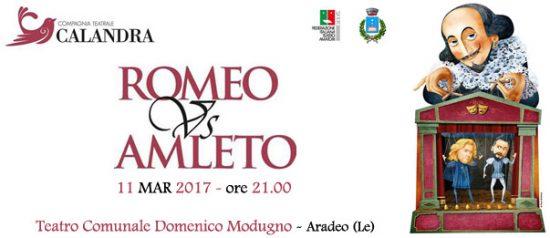 Romeo vs amleto al Teatro Modugno di Aradeo
