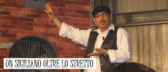 Ronnie Guarino - Un Siciliano Oltre Lo Stretto al San Martin a Giovinazzo