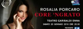 """Voci di Sicilia - Rosalia Porcaro """"Core 'ngrato"""" al Teatro Garibaldi di Enna"""