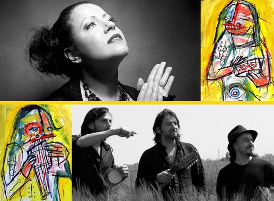 "Antonella Ruggiero e Del Barrio Trio ""Recital Popular"""