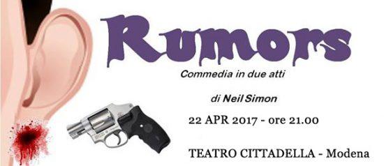 Rumors al Teatro Cittadella di Modena