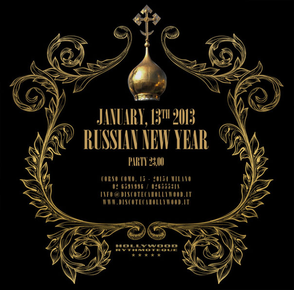 Russian New Year, Hollywood Milano