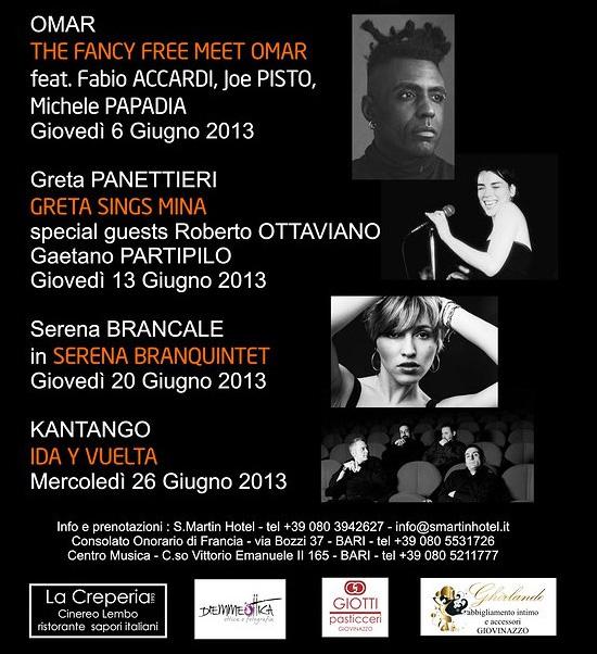 San Martin Jazz Festival 3 a Giovinazzo (Bari)