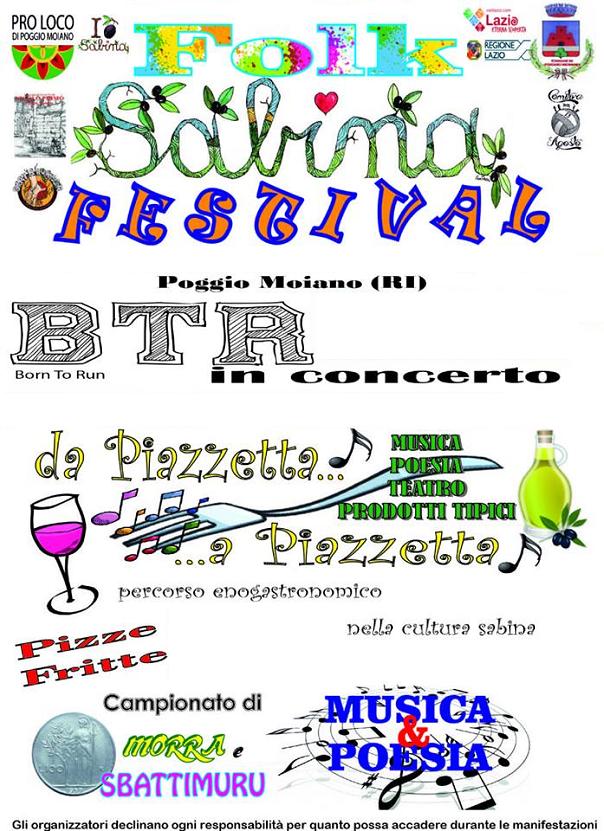Folk Sabina Festival a Poggio Moiano