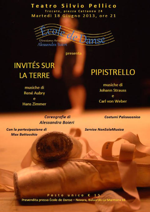 """Saggio di fine anno """"école de danse"""" al Teatro Silvio Pellico di Trecate"""