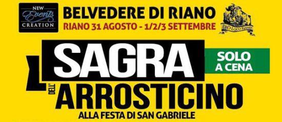 Sagra dell'arrosticino in Piazza Gran Sasso a Belvedere Riano (RM)