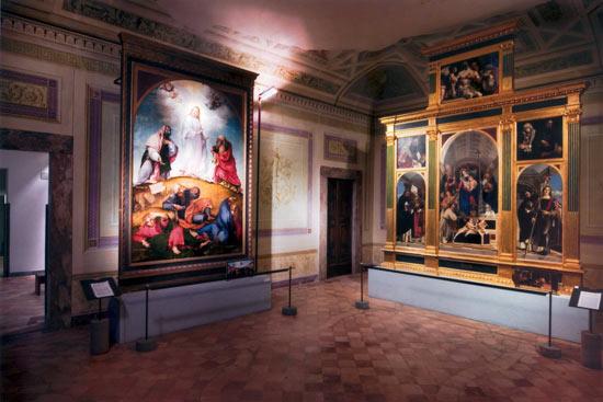 Musei Civici di Recanati Villa Colloredo Mels, Sala Lotto