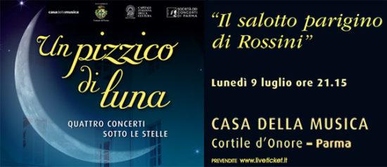 Il Salotto parigino di Rossini alla Casa della Musica a Parma