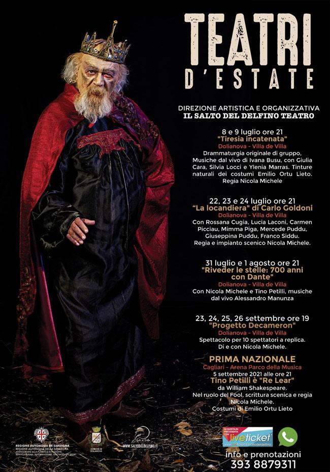 Teatro d'Estate - IL SALTO DEL DELFINO a Dolianova