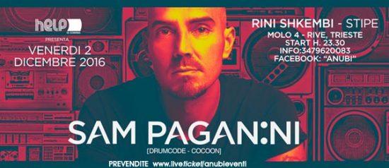 Sam Paganini al Molo4 di Trieste