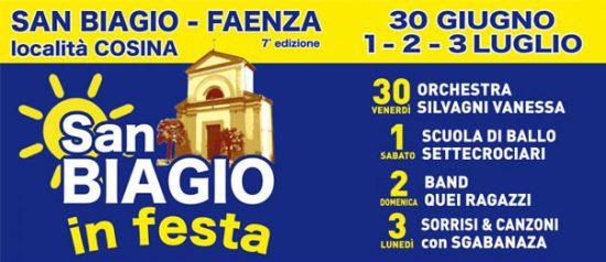 """San Biagio in festa"" a Faenza"