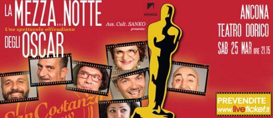 """San Costanzo Show """"La mezza...notte degli Oscar"""" al Cinema Teatro Dorico"""