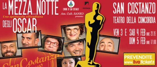 """San Costanzo Show """"La mezza...notte degli Oscar"""" al Teatro Della Concordia di San Costanzo"""