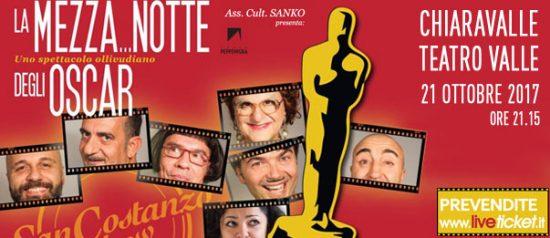 """San Costanzo Show """"La mezza...notte degli Oscar"""" al Teatro Comunale Valle di Chiaravalle"""