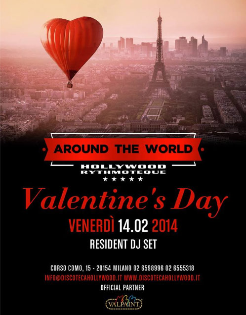 St. Valentine's Day at Hollywood Milano