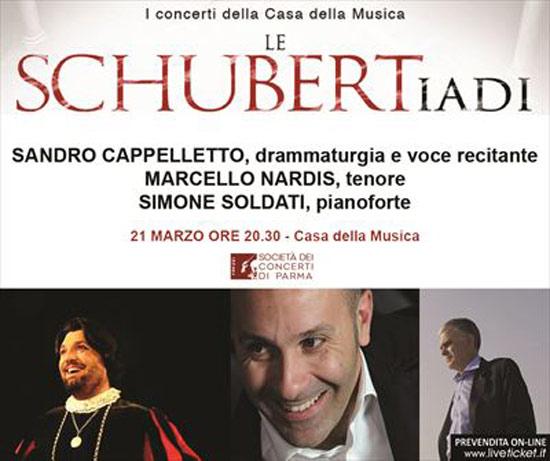 Sandro Cappelletto Marcello Nardis e Simone Soldati alla Casa della Musica di Parma