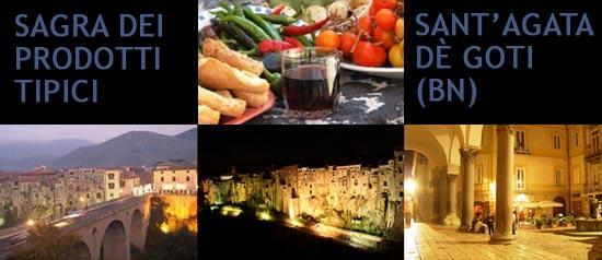 Sagra dei prodotti tipici a Sant'Agata dè Goti