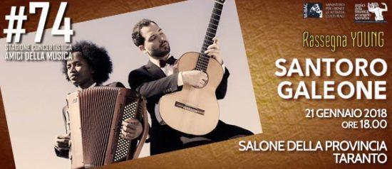 Michele Santoro & Bruno Galeone al Salone della Provincia di Taranto