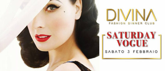 Saturday Vogue al Divina fashion dinner club a Montecchio