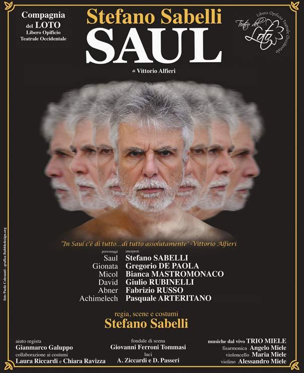 "Teatroltre 2015 ""Saul"" a Lamezia Terme"