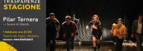 """Trasparenze Stagione """"Scene di libertà"""" al Teatro dei Segni a Modena"""