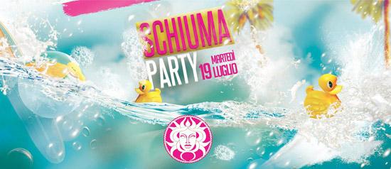 Schiuma Party ai Bagni Medusa a San Benedetto del Tronto