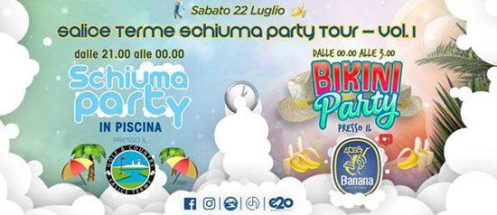 Schiuma party tour al Golf Club di Salice Terme