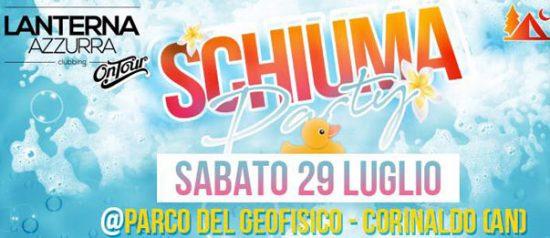Schiuma party al Parco del Geofisico - Selva di Boccalupo a Corinaldo