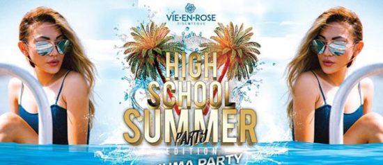 High school summer party a La Vie en Rose a Imola