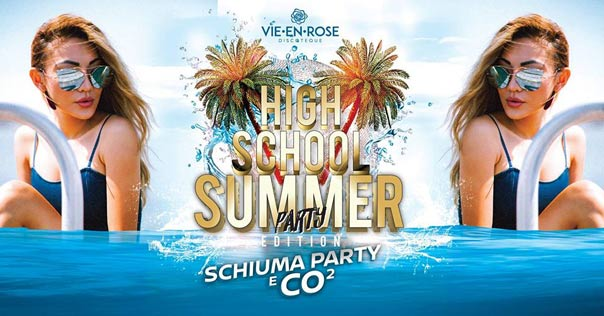 High school summer party a La Vie en Rose a Imola