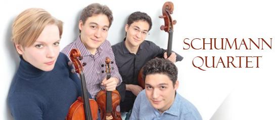 Quartetto d'Archi Schumann al Teatro Fondazione San Carlo