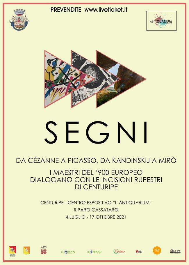 """Mostra SEGNI """"Da Cézanne a Picasso, da Kandinskij a Miró"""" a Centuripe"""