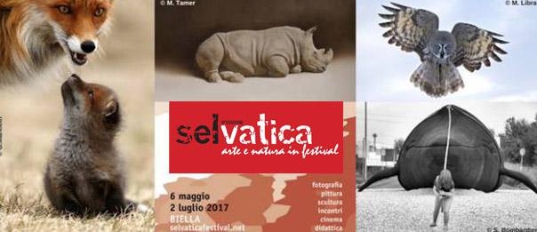 """""""Selvatica. Arte e Natura in Festival 2017"""" a Palazzo Gromo Loso a Biella"""