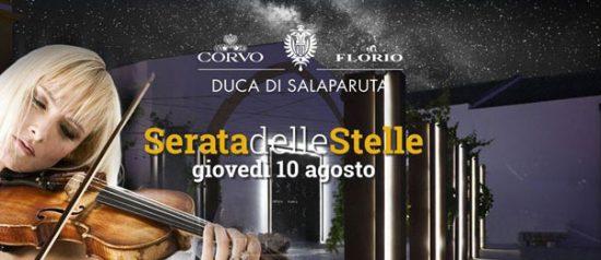 "Florio Summer & WorldNights 2017 ""Serata delle Stelle"" alle Cantine Florio a Marsala"