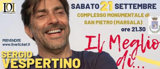"""""""Il meglio di..."""" Sergio Verspertino al Complesso Monumentale San Pietro di Marsala"""