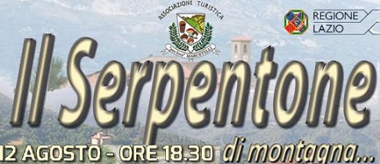 Serpentone di Montagna a Marcetelli
