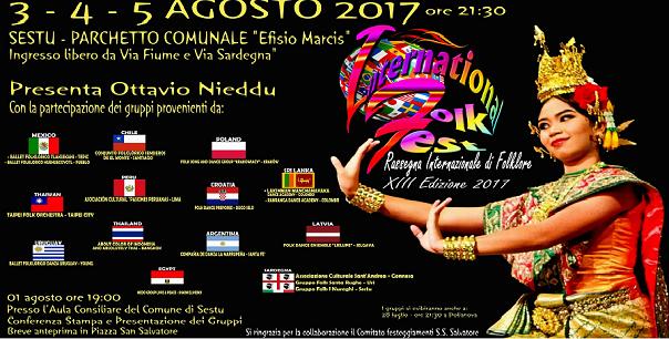 """XIII International Folk Fest"" a Sestu"